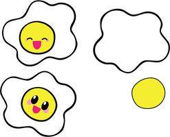 Cute Eggs by Mokulen22