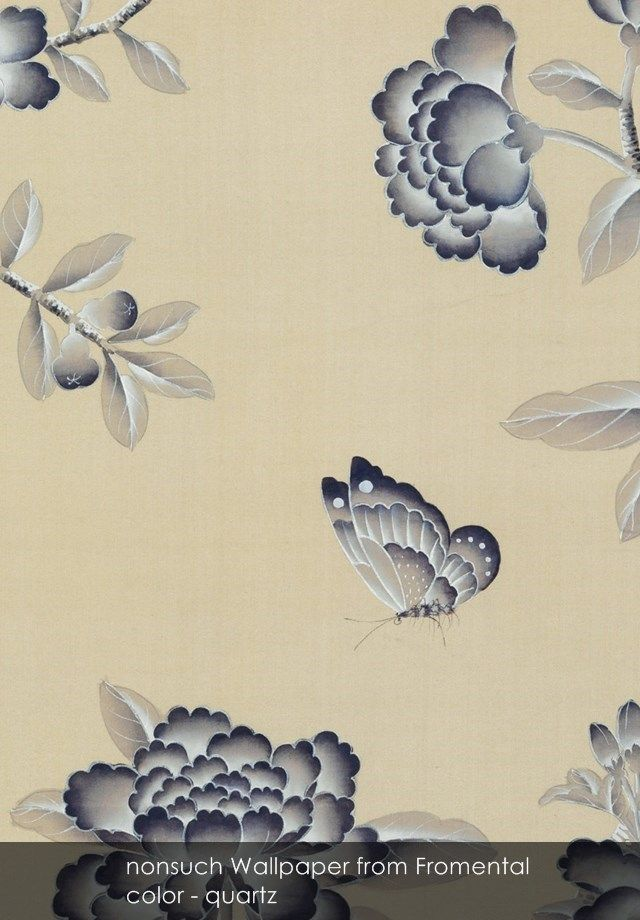 nonsuch wallpaper from fromental in quartz chinoiserie