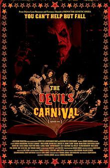 "The Devil's Carnival, which is the most recent release from the same people that brought you ""Repo! The Genetic Opera.""  It was a great film and overall I felt like they did a great job with it! Check out my review and let me know what you all think! #DevilsCarnival"