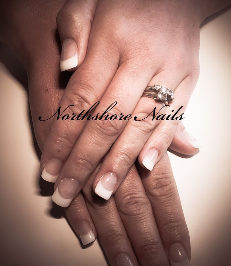 Classic French Gel Manicure! Perfect for everyday and wedding season!!