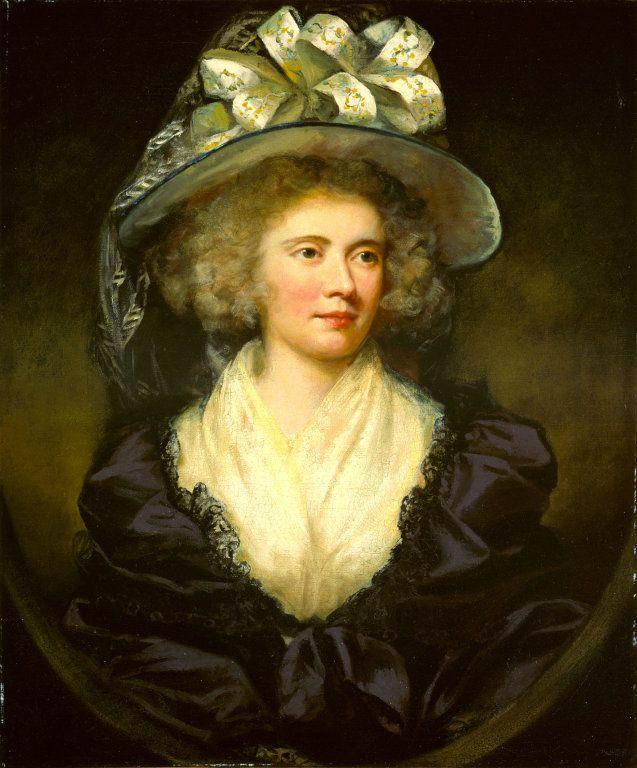 James Northcote, Mrs. Allan Maconochie, 1789. Oil on canvas.