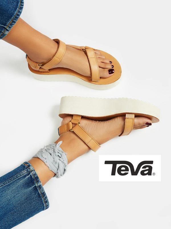 e8169857bc0 Цена: 1250 грн. - Teva оригинал кожаные босоножки сандалии на ...