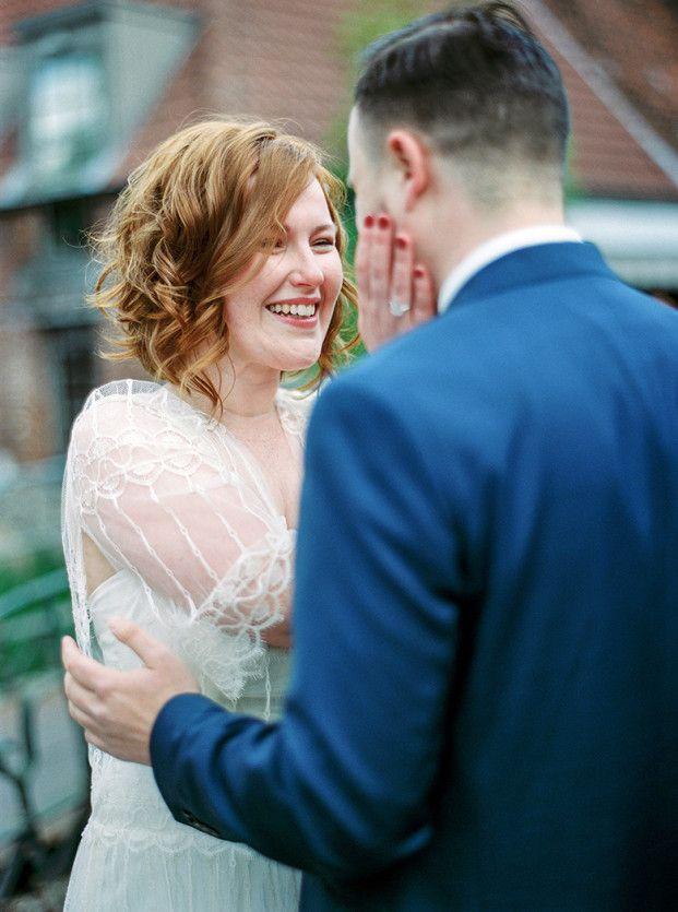 Un mariage champ tre en bleu en belgique best wedding - Pose photo mariage ...
