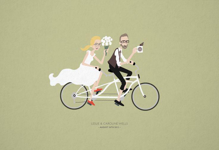 tandem_bike_wedding_couple_fruitful_graphic_design_omaha