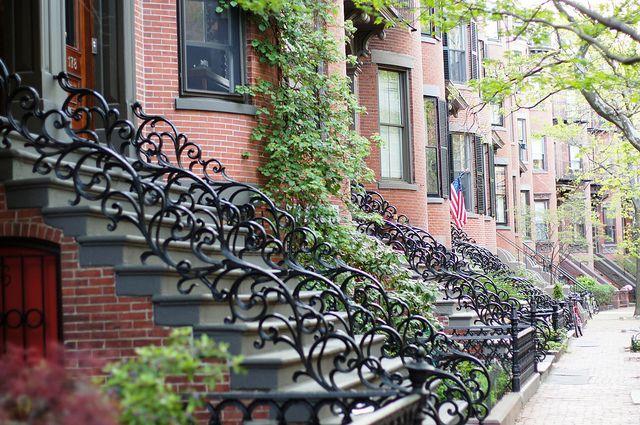 April: DETAIL (South End Row Houses - Boston, MA)