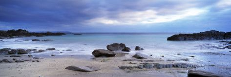 Rocks on the Beach, Stoke Beach, Newton Ferrers, South Devon, Devon, England Photographic Print by Panoramic Images - AllPosters.co.uk