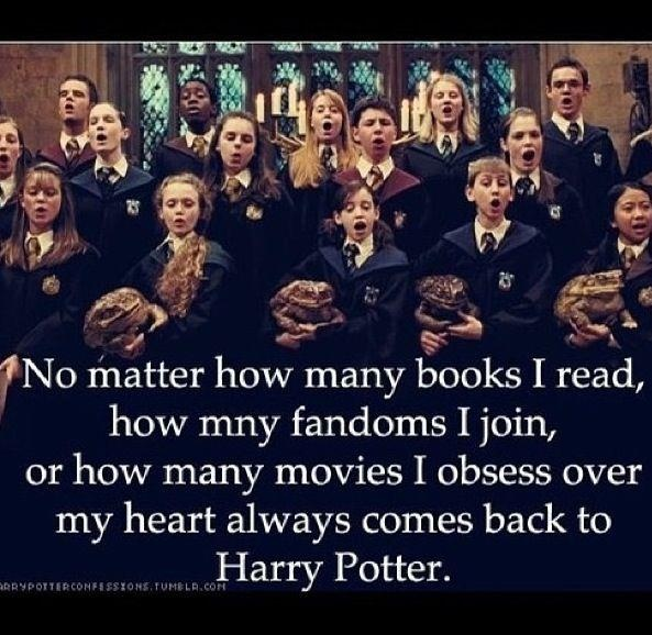 Hogwarts will always be my home.
