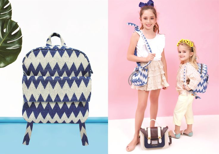 Nita Faco Summer Kids Collection. Recycled fabric made in Brazil.