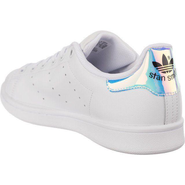 Sportowe Damskie Adidas Adidas Biale Adidas Stan Smith J 272