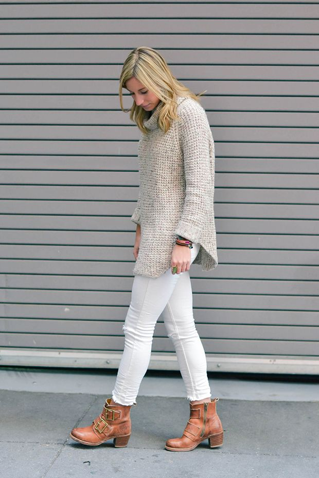winter white outfit