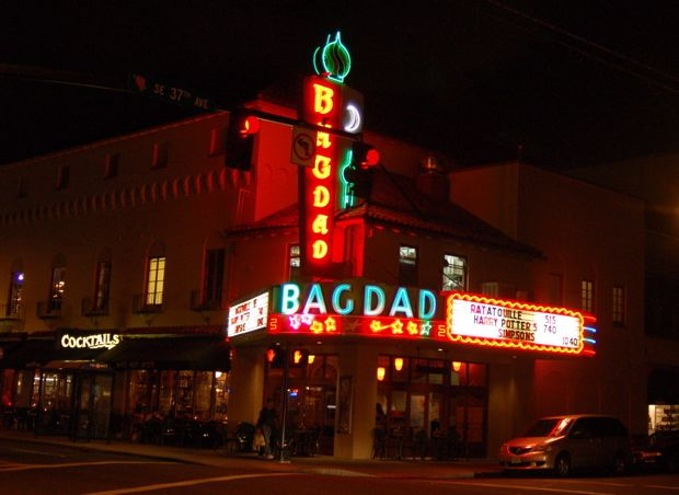 BAGDAD Theater   Such A Cool Place To Watch A Movie❦