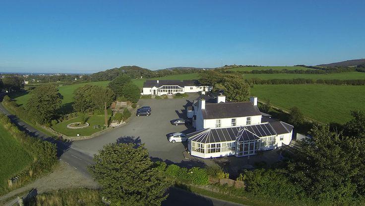 Aerial photo of Lastra Farm Hotel, Amlwch