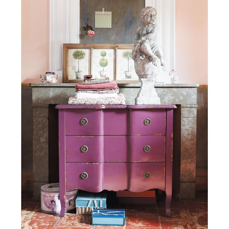 Commode violette FIGUE