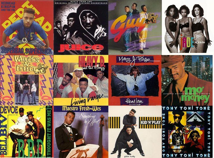 Classic hip hop and new jack swing albums