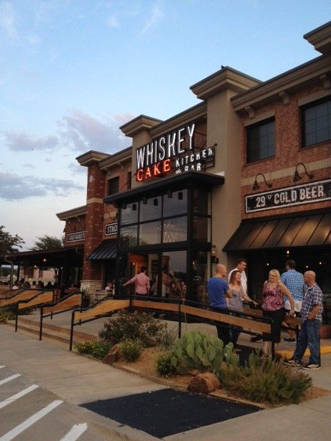 Whiskey Cake Kitchen + Bar in Plano, Texas outside of Dallas