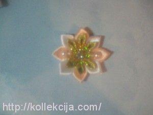 Канзаши ожерелье.