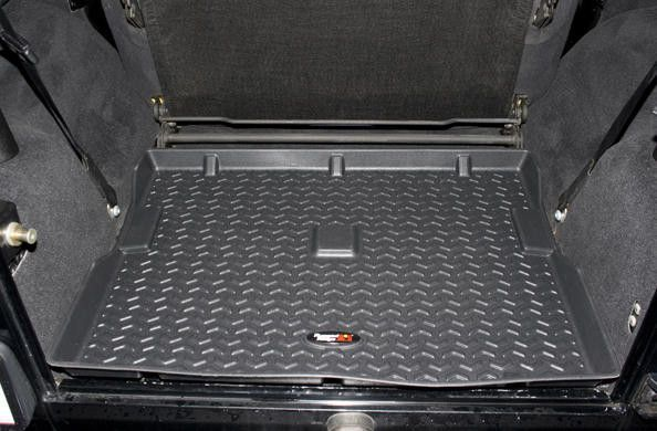 Rugged Ridge Rear Cargo Liner for 87-06 Jeep Wrangler YJ, TJ & Unlimited