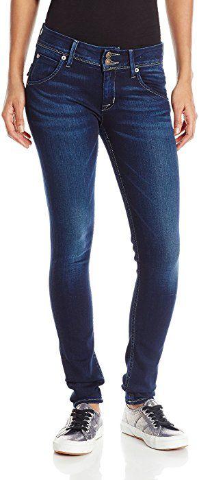 f5c32c3f391 HUDSON Jeans Women's Collin Midrise Skinny Flap Pocket Jean, Crest Falls,  29 at Amazon Women's Jeans store