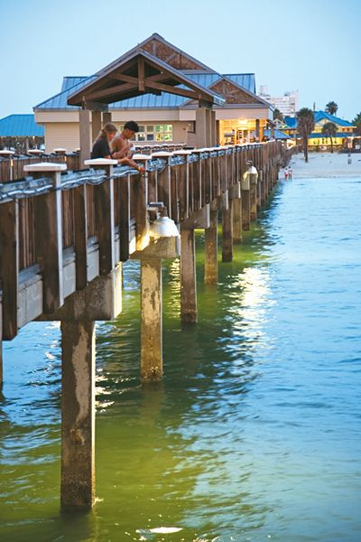 Clearwater pier 60 by visit florida via flickr things for Clearwater fishing pier