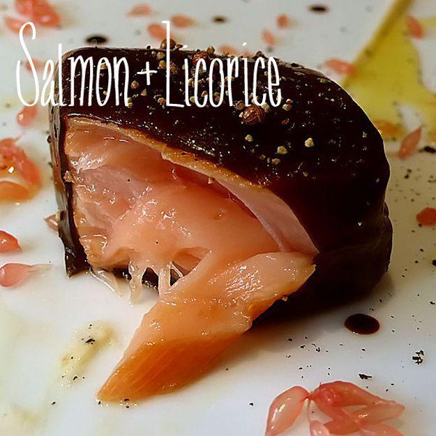 Salmon + Licorice - 23 Unexpected Flavor Combos That Taste Amazing