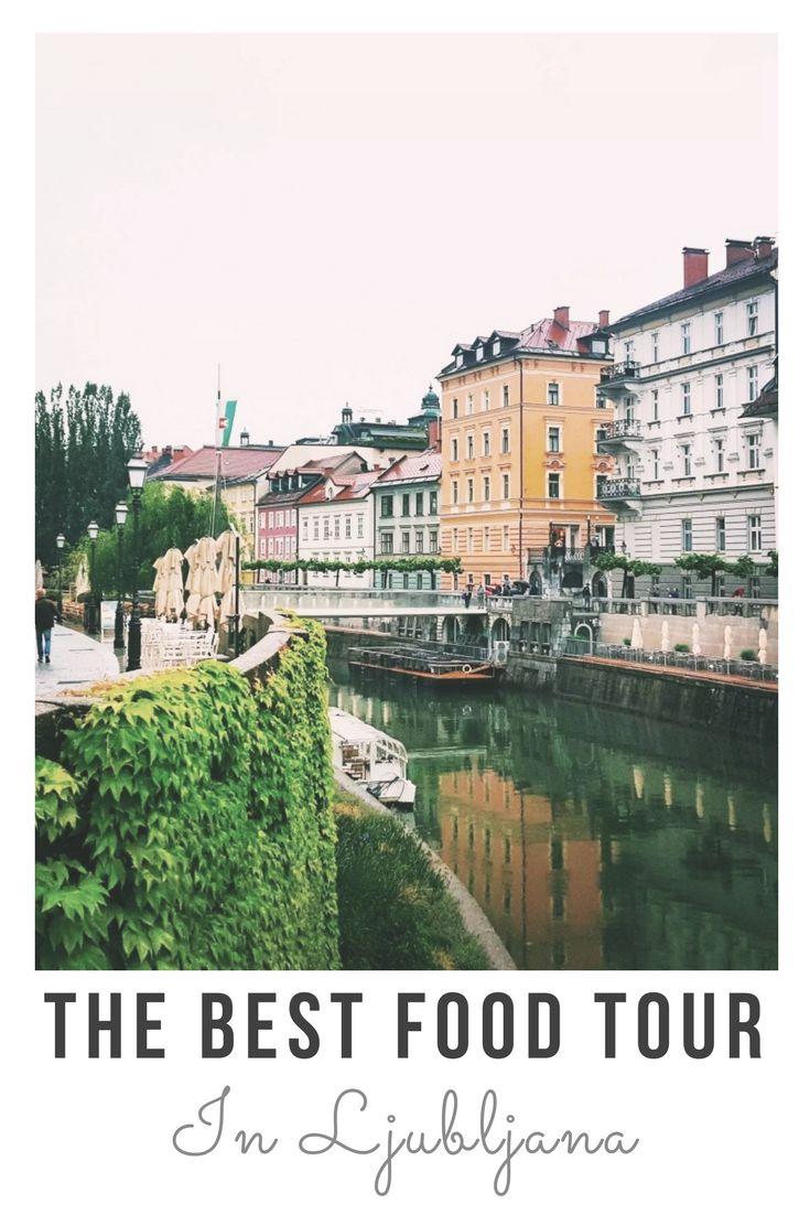 The best food tour in Ljubljana, Slovenia.