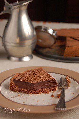 Мексиканский шоколадный тарт