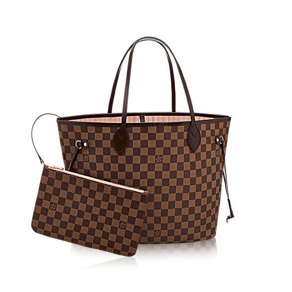 Ein Valentinstagsgeschenk für Damen - Neverfull MM Damier Ebene Canvas Handtaschen    LOUIS VUITTON