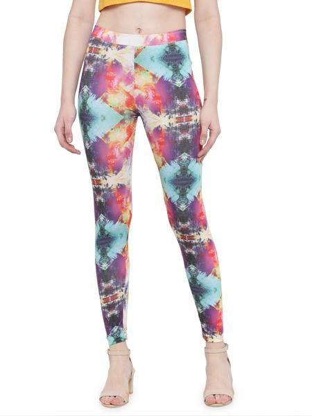 18d6d8353f182d Buy Ankle Length Leggings At Best Price on Mafatlal Online. #leggings  #fashion #style #womenswear #mafatlalonline #auranova #ankleleggings