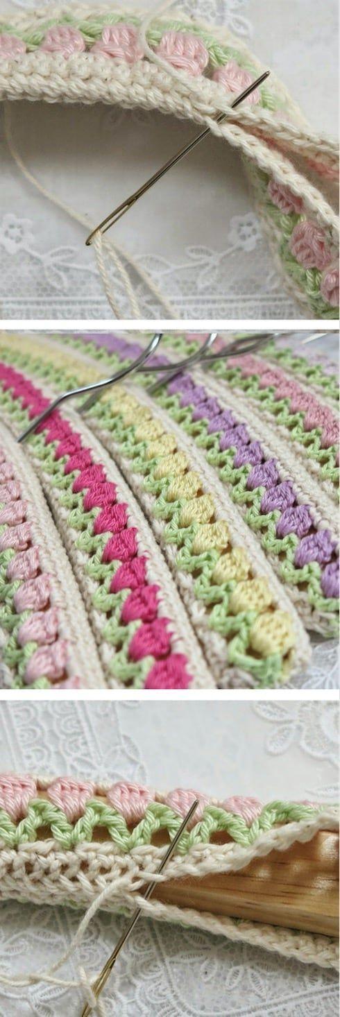 Mejores 202 imágenes de Crochet en Pinterest | Artesanía de crochet ...