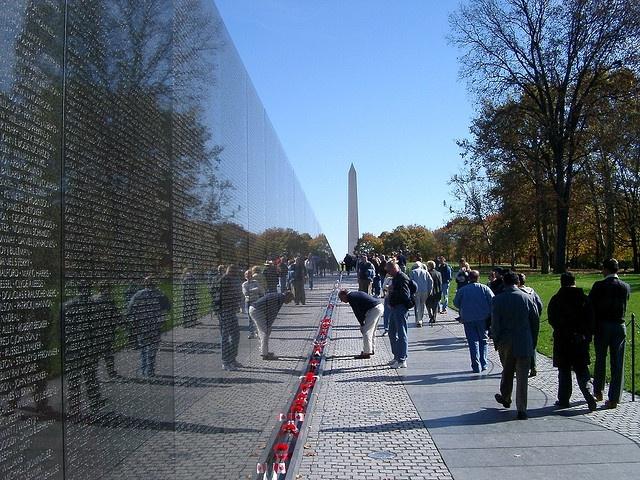The Vietnam Veterans Memorial is a national war memorial in Washington, D.C