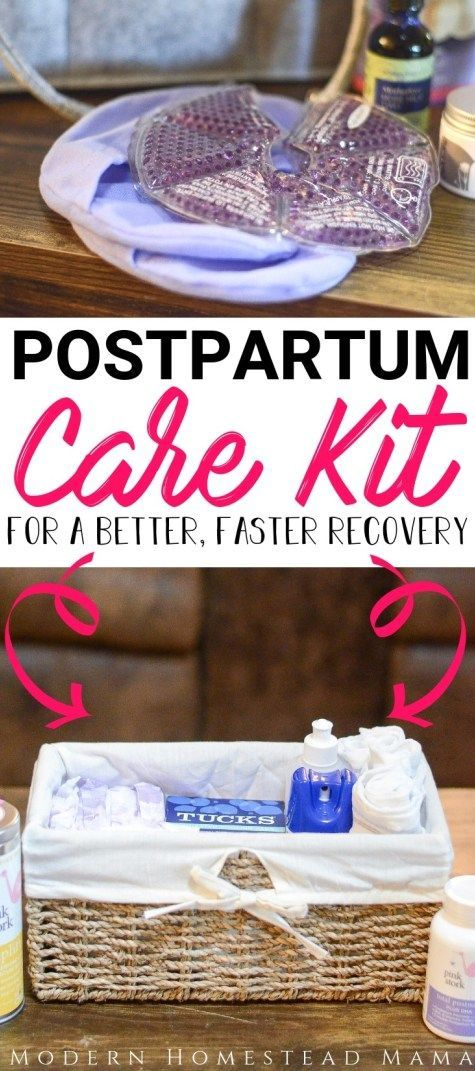 Postpartum care kit for better and faster recovery | Modern Homestead Mom #postp …   – Modern Homestead Mama