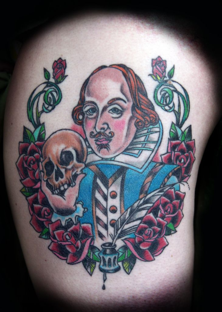 Shakespeare tattoo