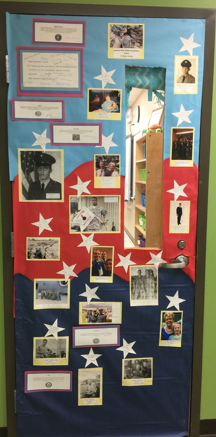Veterans Day Classroom Door Decoration Ideas ~ Best images about veterans day on pinterest american