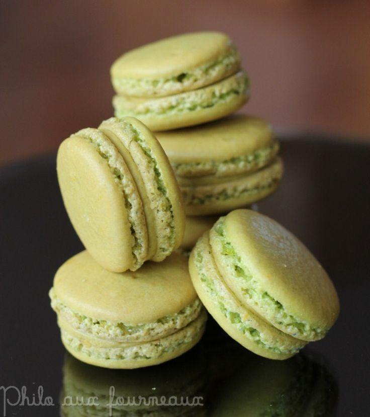 Les macarons à la pistache sont ceux qui ont beaucoup de succès après ceux au chocolat. Sur mon blog, il existe une autre recette de mac...