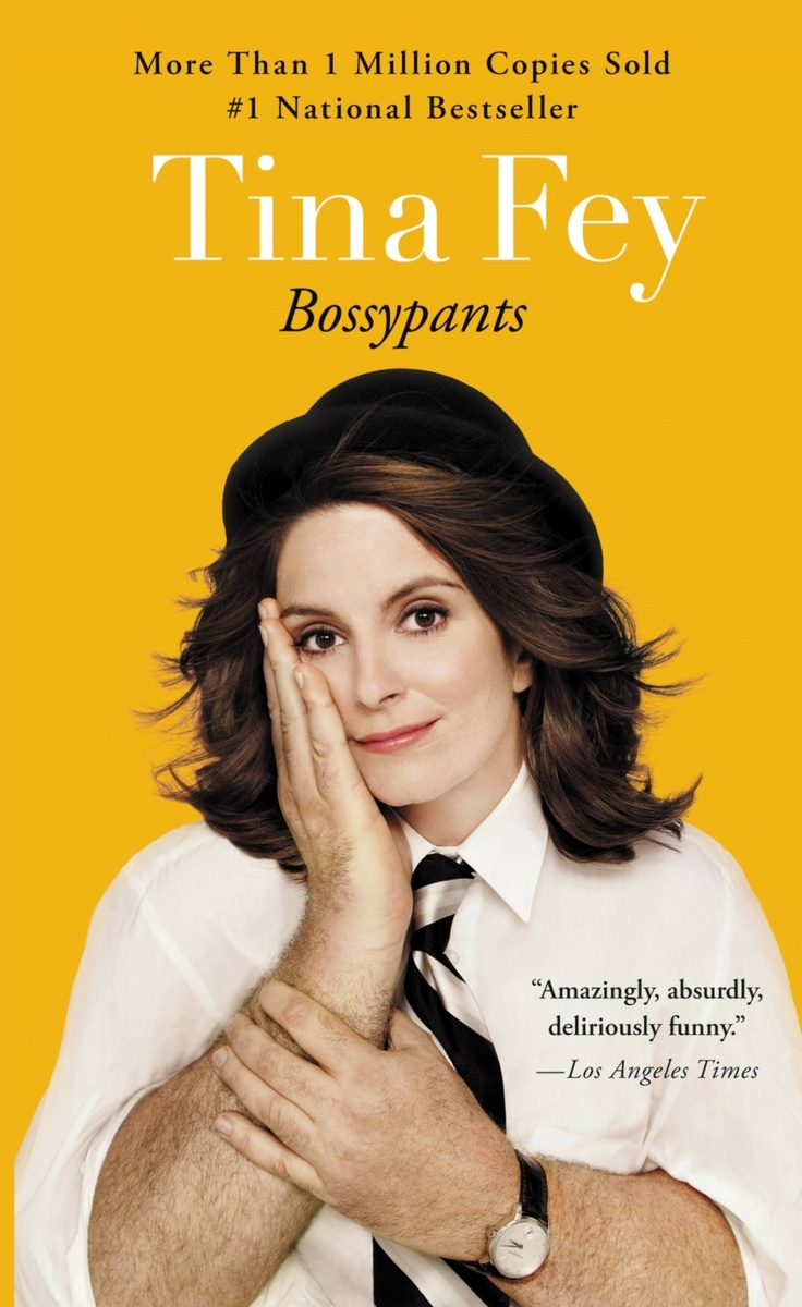 """Bossypants By Tina Fey   Before Liz Lemon, before """"Weekend Update,"""" before """"Sarah Palin,"""" Tina Fey was just a young girl with a dream: a recurring stress dream that she was being chased through a local airport by her middle-school gym teacher. She also had a dream that one day she would be a comedian on TV.She has seen both these dreams come true. Tina Fey reveals all, and proves what we've all suspected: You're no one until someone calls you bossy."""