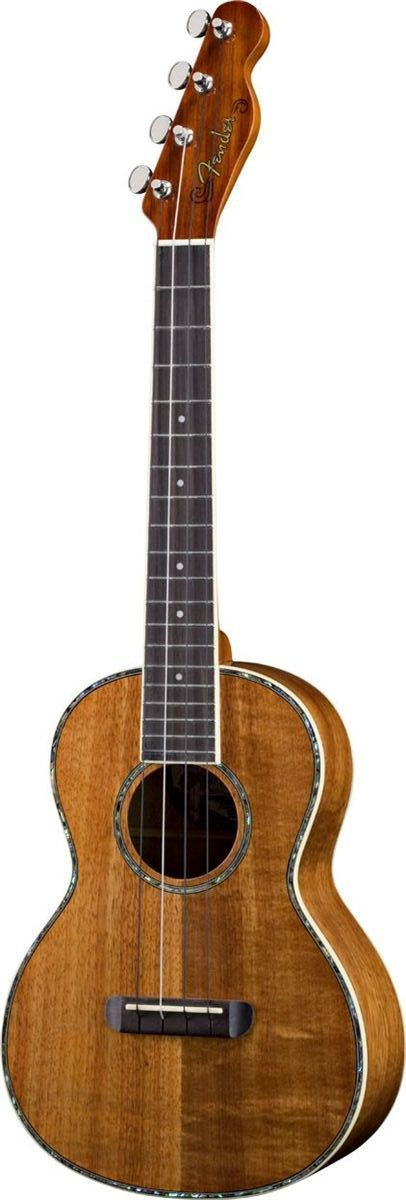 Fender brings you the authentic sound of the Hawaiian Islands with its first-ever series of ukulele models. Ukuleles are enjoying renewed popularity, with exquisite sounds and designs that are a far c