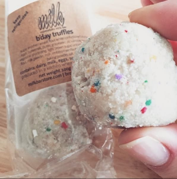 'The Crack Pie and B'Day truffles are fantastic!'– Megan Crofts (Facebook)