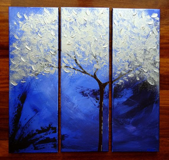 paintings name   silver dream   size   61 x 60 9 cm   3 canvas 20 3 x 61 cm   on stretched