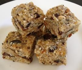 "Recipe ""Birdseed"" Muesli Bars by Classmyth - Recipe of category Desserts & sweets"