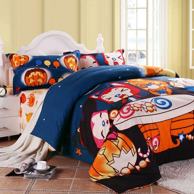 halloween themed bedroom
