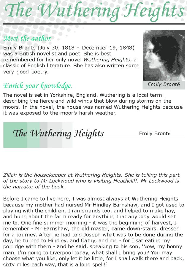 wuthering heights reading log Reading group choices selects discussible books and suggests discussion topics for reading groups log in sign up 0  to the 1850 edition of wuthering heights,.