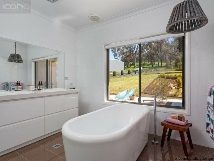 #bathroom #goals #iconobuildingdesign #interiordesign #australian #home #bathtub