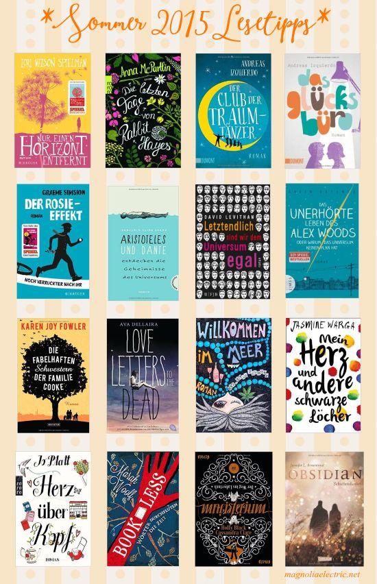 16 Bücher, die ihr diesen Sommer lesen solltet {summer 2015 - reading list}