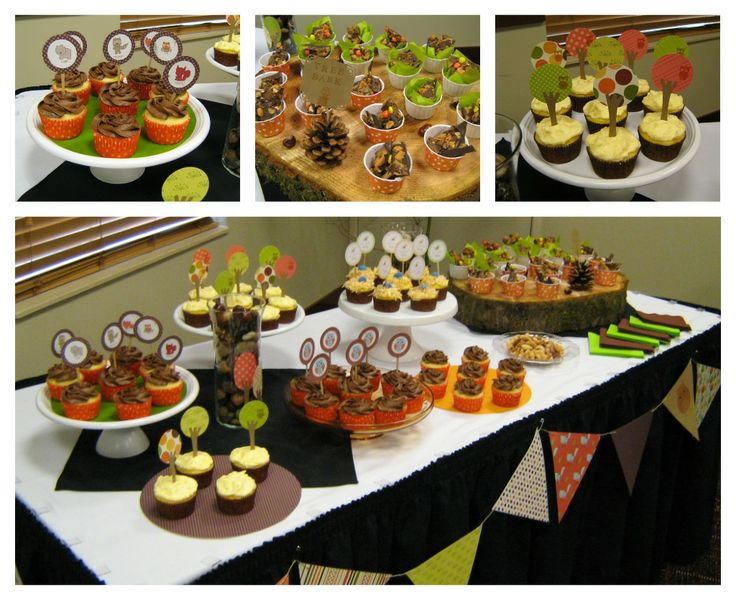 103 Best Images About Woodland Baby Shower On Pinterest