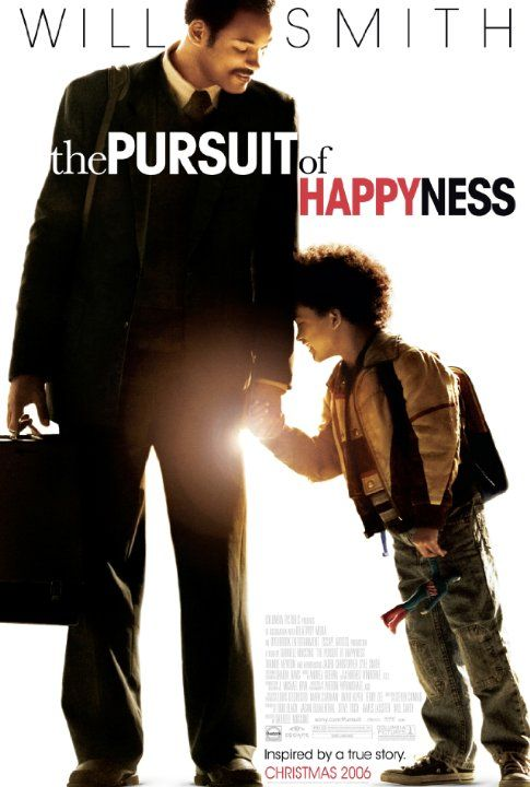 The Pursuit of Happyness (2006)  A struggling salesman takes custody of his son as he's poised to begin a life-changing professional endeavor. The power of perseverance. Great acting by the Smiths.