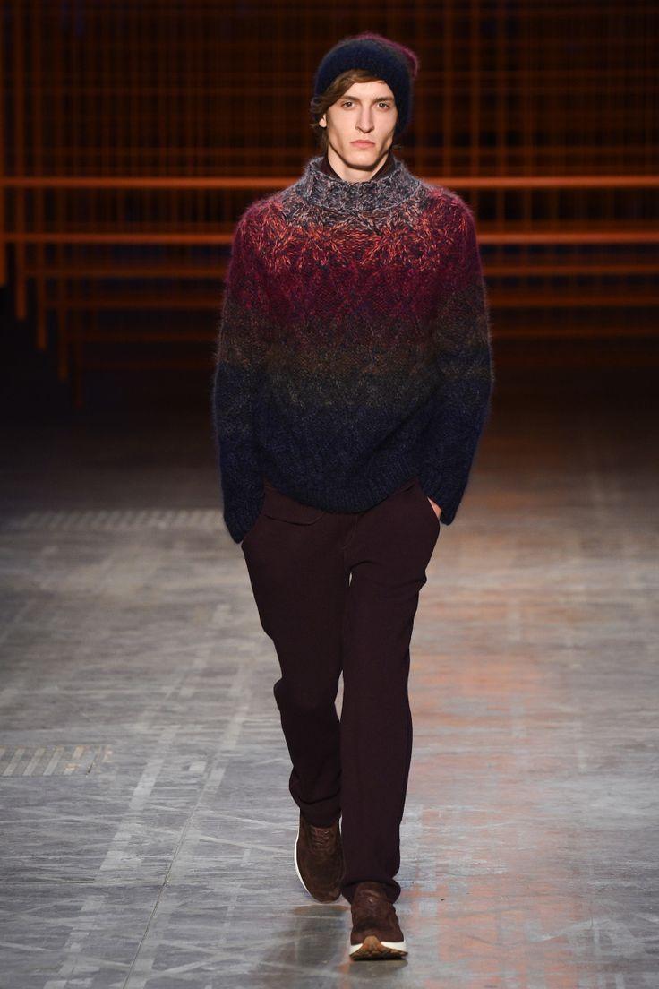Missoni | Menswear - Autumn 2017 | Look 1