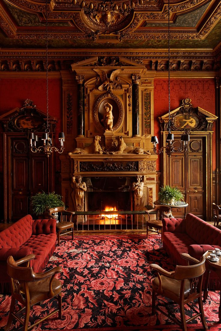 815 best divine and decadent interiors images on pinterest for Salle a manger english