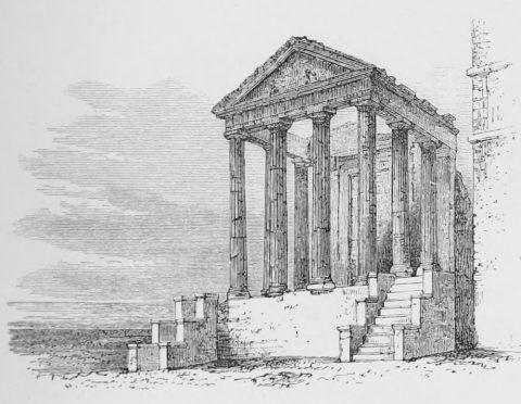Augustus Hare. Temples of Cori
