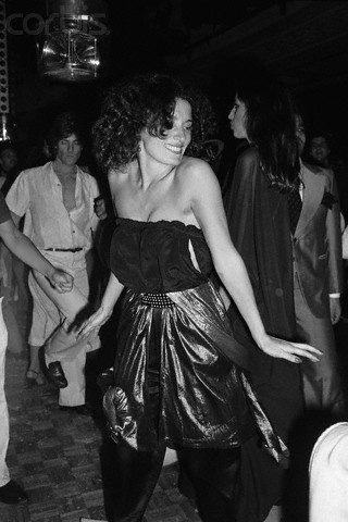 Canadian first lady Margaret Trudeau, Studio 54, 1978.