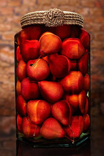 Sarabella Tuscan Art, Red Pears